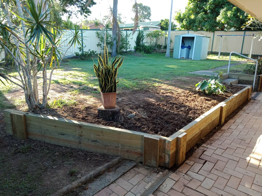 Retaining Wall – Eagleby