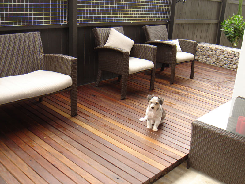 Garden projects – patio