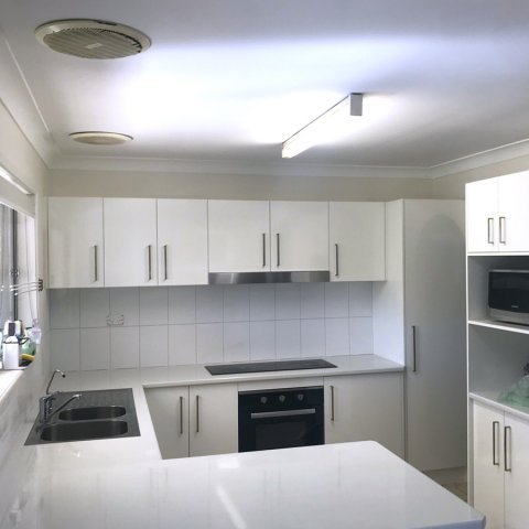 after Kitchen renovation in Aspley